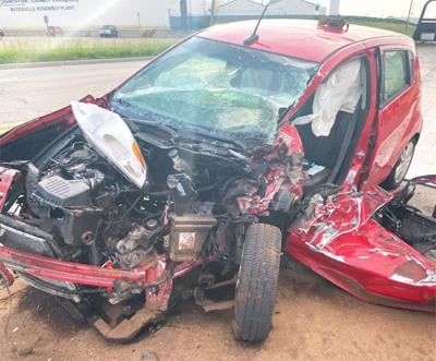 Traffic accident on State Road 46