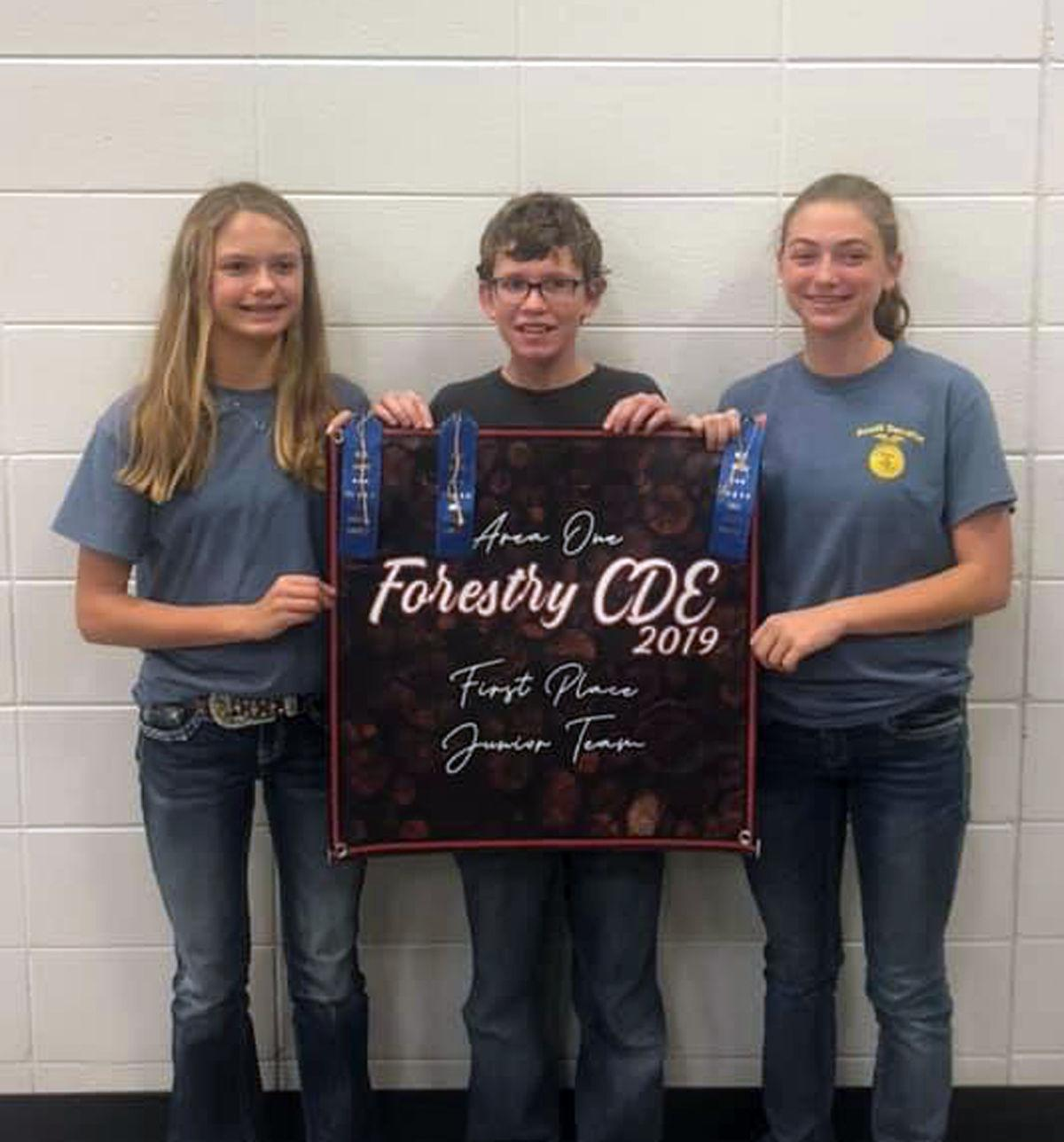 SDHS students find success at Crops and Forestry Contest