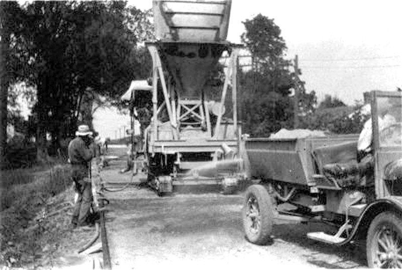 History of 'The Concrete Road' shared