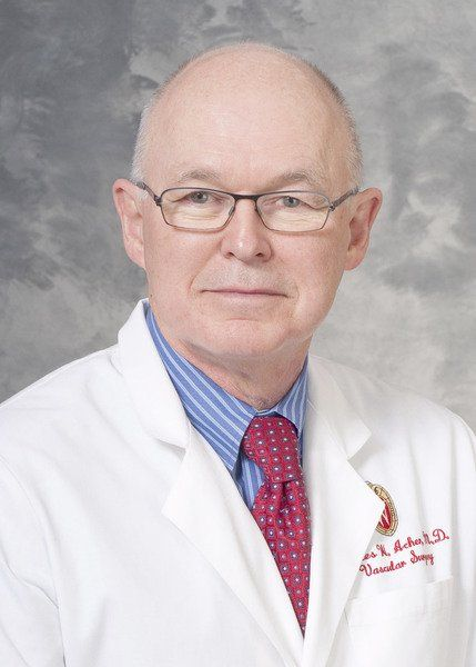 Dr. Charles (C.W.) Acher knows he is lucky