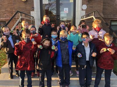 St. Louis School 1st graders celebrate World Kindness Day