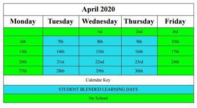 DCCS releases school plans for April