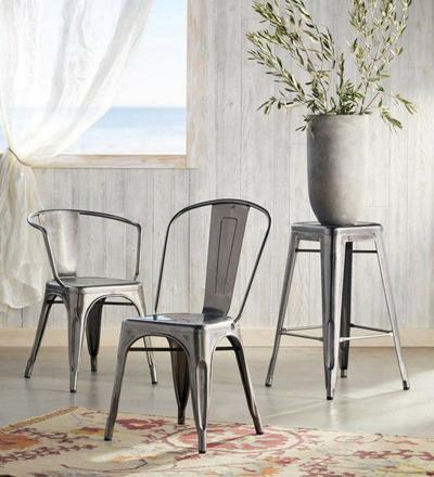 'Tolix' chairs are a rare find