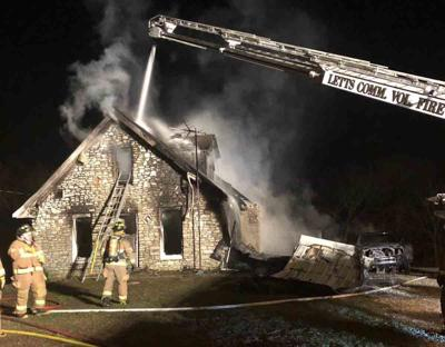 Multiple agencies respond to early morning house fire