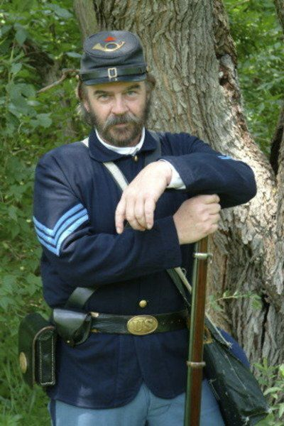 'Union soldier' to appear at library