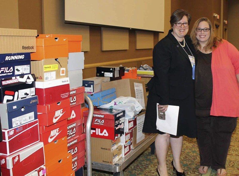 176 Pairs Of Shoes Donated For At Risk Teens Local News
