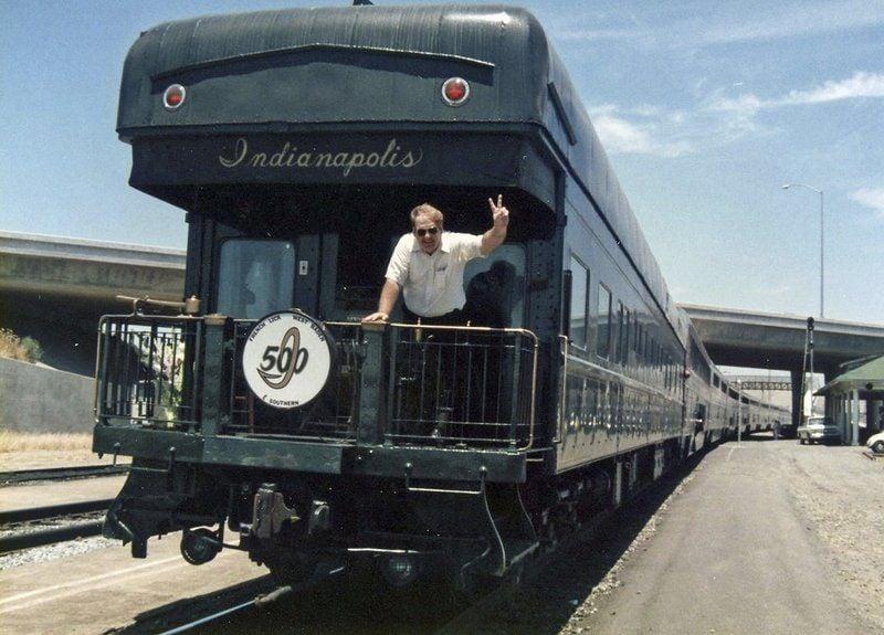 Alan Barnett always loved trains