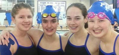 Greensburg girls smash swim record