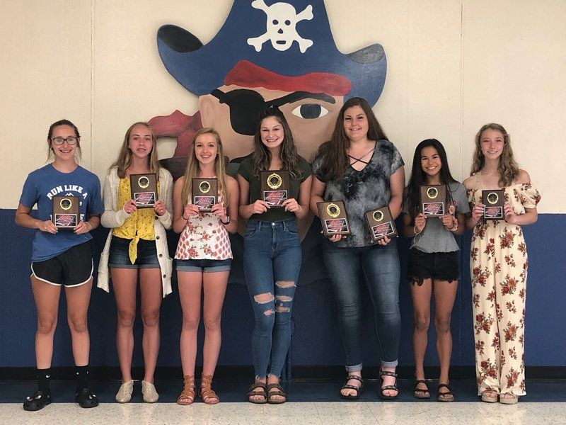 Pirates track awards handed out