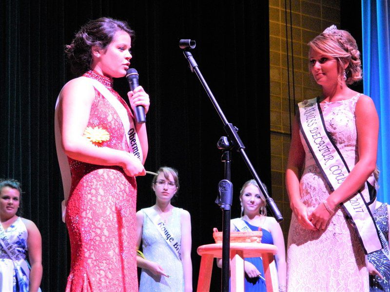 Brewsaugh crowned Miss Decatur County