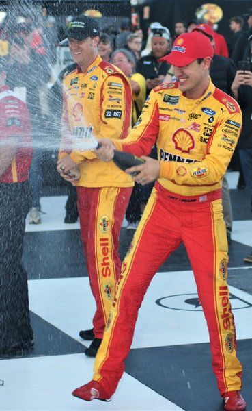 Logano near perfect in Michigan win