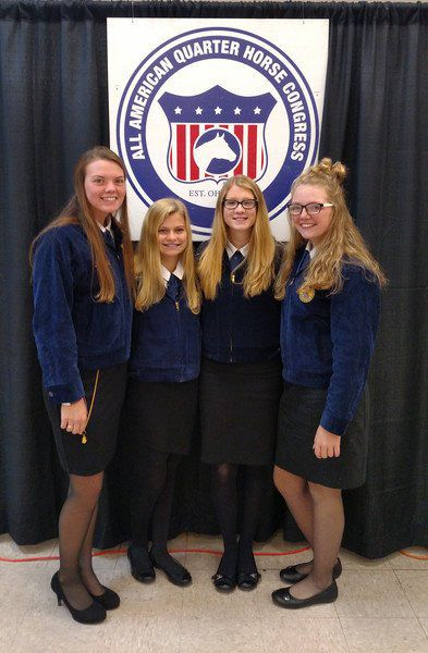 NDHS FFA competes in national horse judging contest