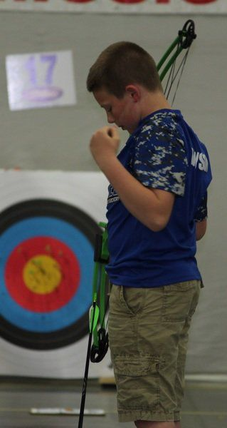 Local GES archer leads state at nationals