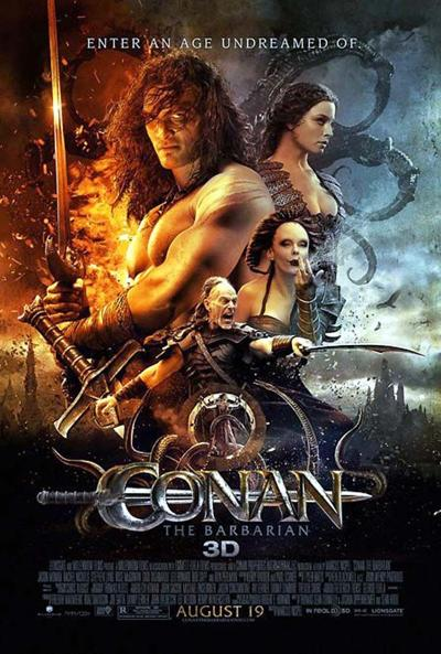 """Conan the Barbarian"" movie poster"