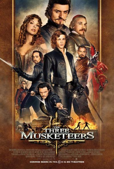 """""""The Three Musketeers"""" movie poster"""