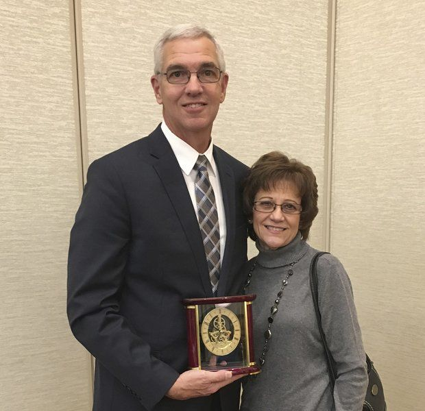 Copple honored at principals' banquet