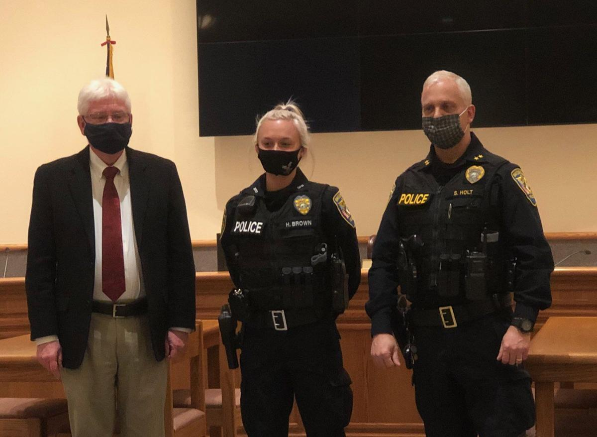Batesville welcomes new police officer