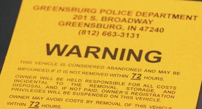 Ordinance addresses abandoned vehicles, derby cars