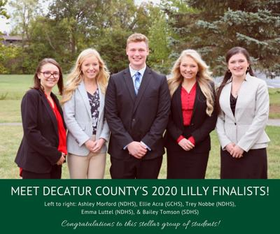 Lilly scholarship recipients
