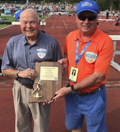 King honored for 51 years of service