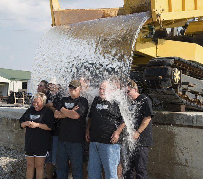 Ward Equipment accepts ALS challenge