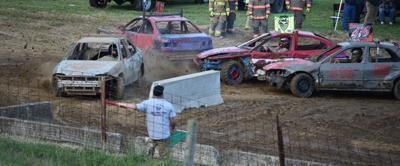 Demo derby kicks off grandstand events