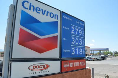 Gas Prices Tucson >> High Gas Prices In Gv It S Tough To Figure Out Why Local News