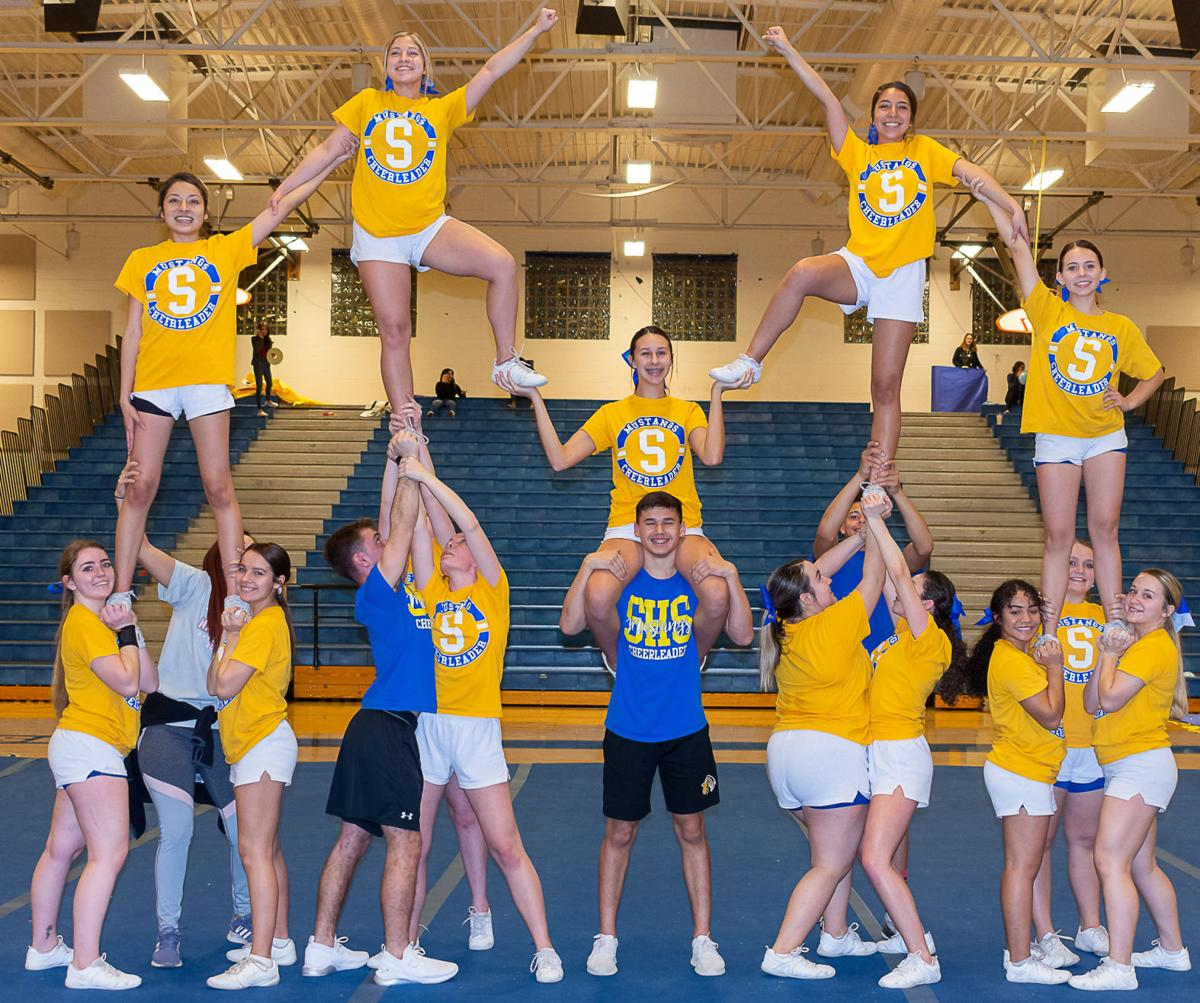 SHS cheerleading adding more boys to the mix   Local News Stories    gvnews.com