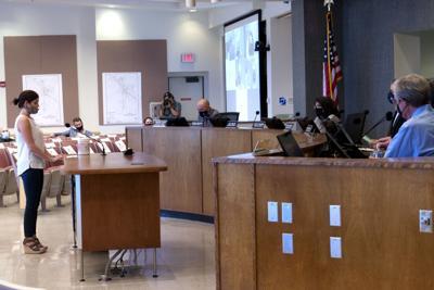 Business owner addresses Board of Supervisors on mask ordinance