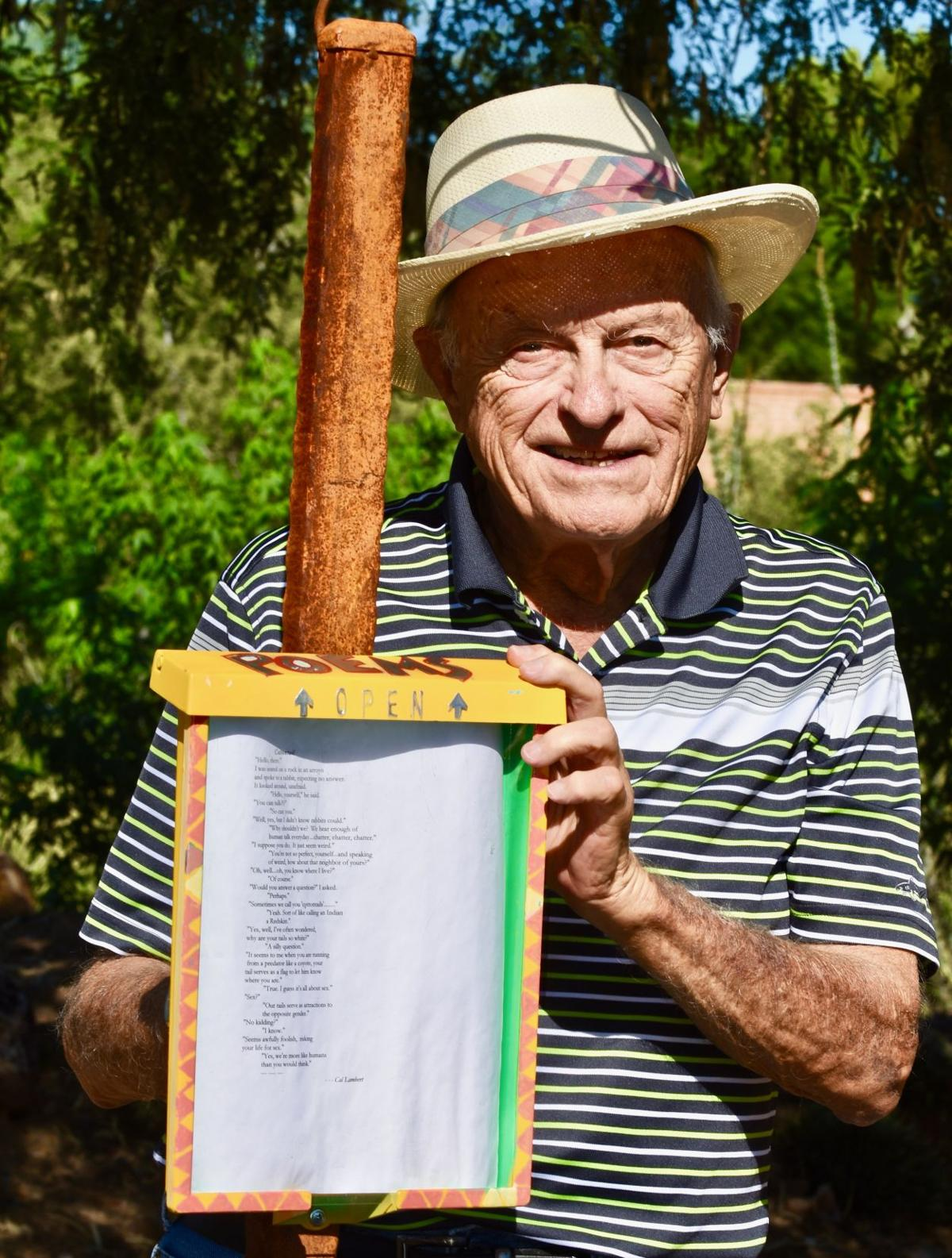 POEMS AMONGST THE PLANTS: Desert Meadows Park welcomes PoeTrail