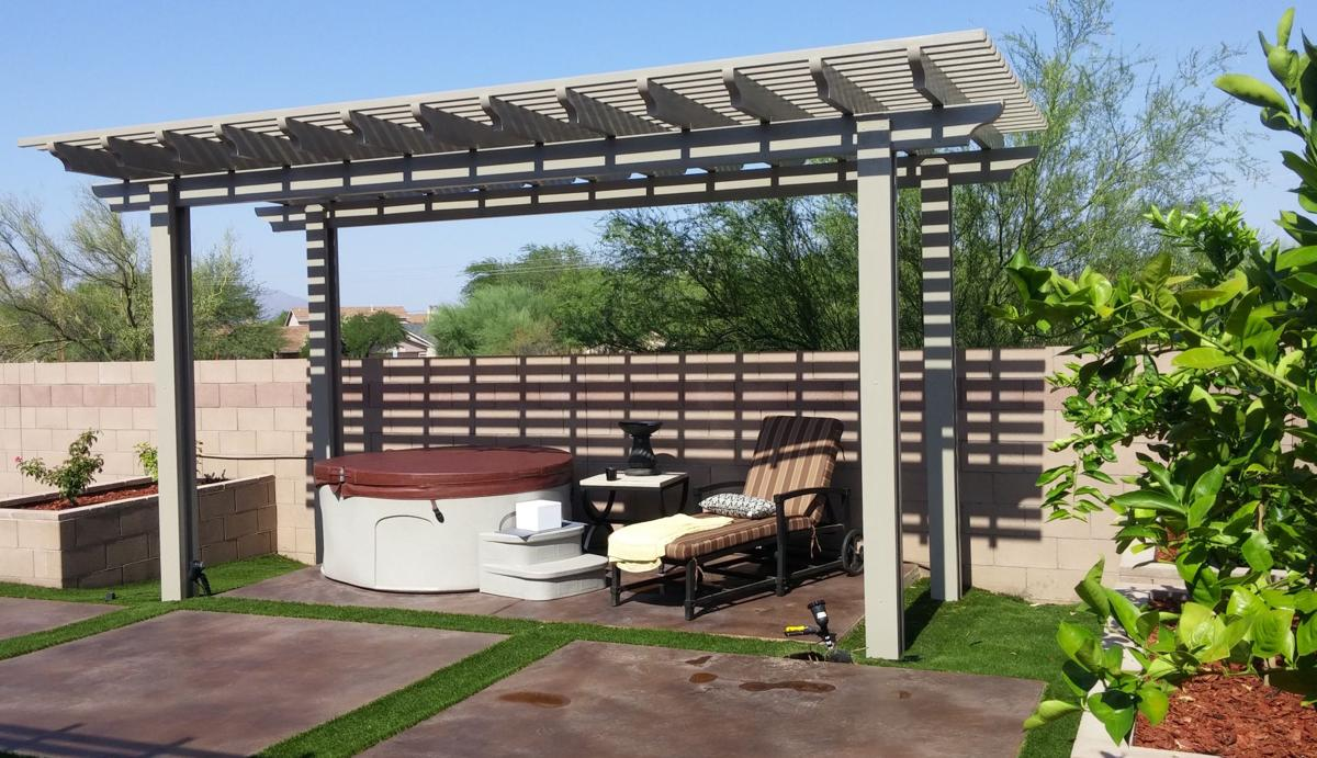 MADE IN THE SHADE!  Go undercover with cool shade structures
