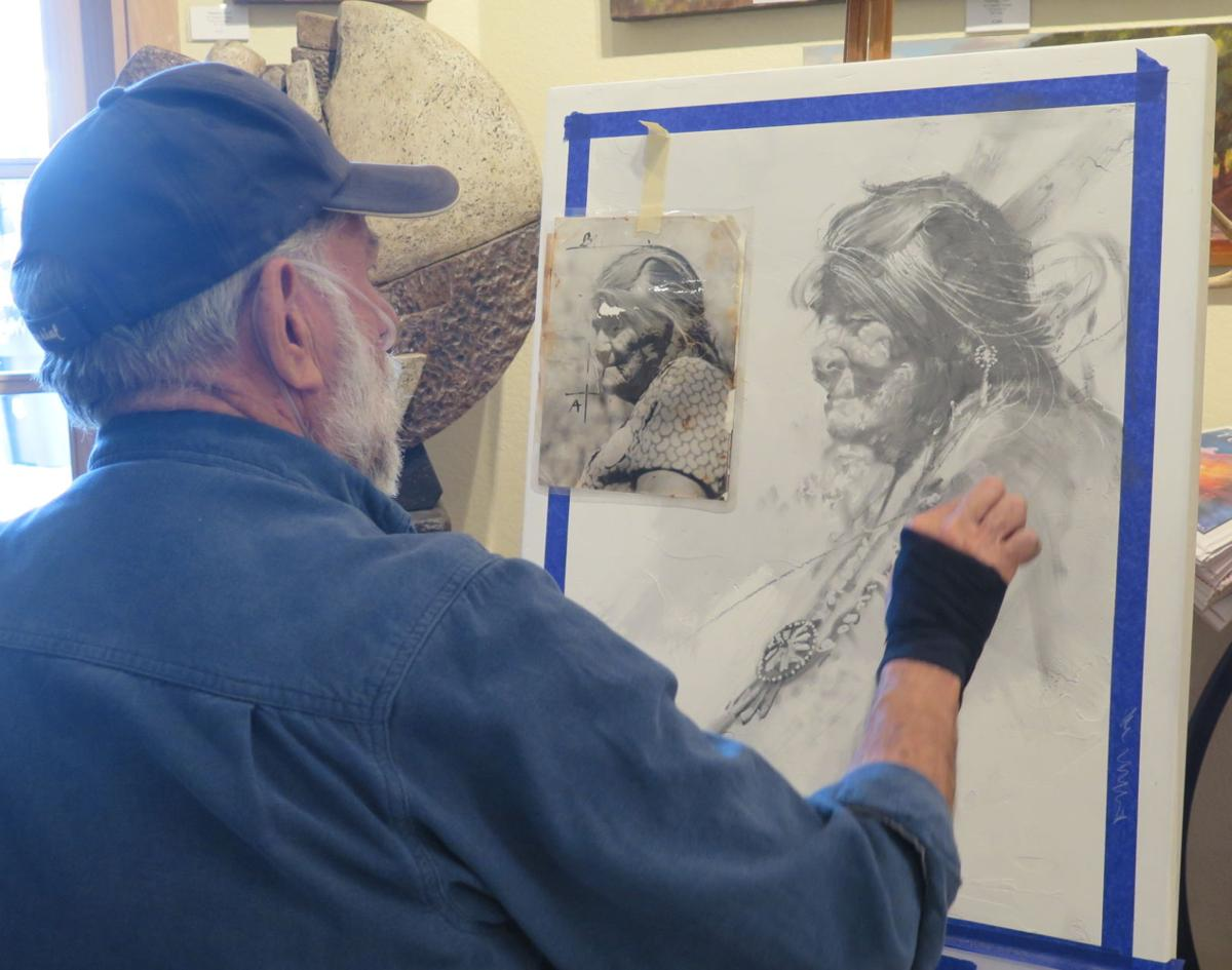 Cowboy Christmas Tubac 2020 Rogoway Quick Draw' auction: Speedy artists support charity event | Get
