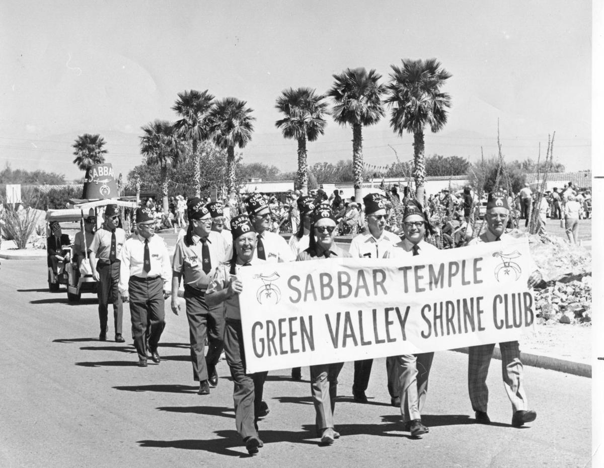 Shriners march