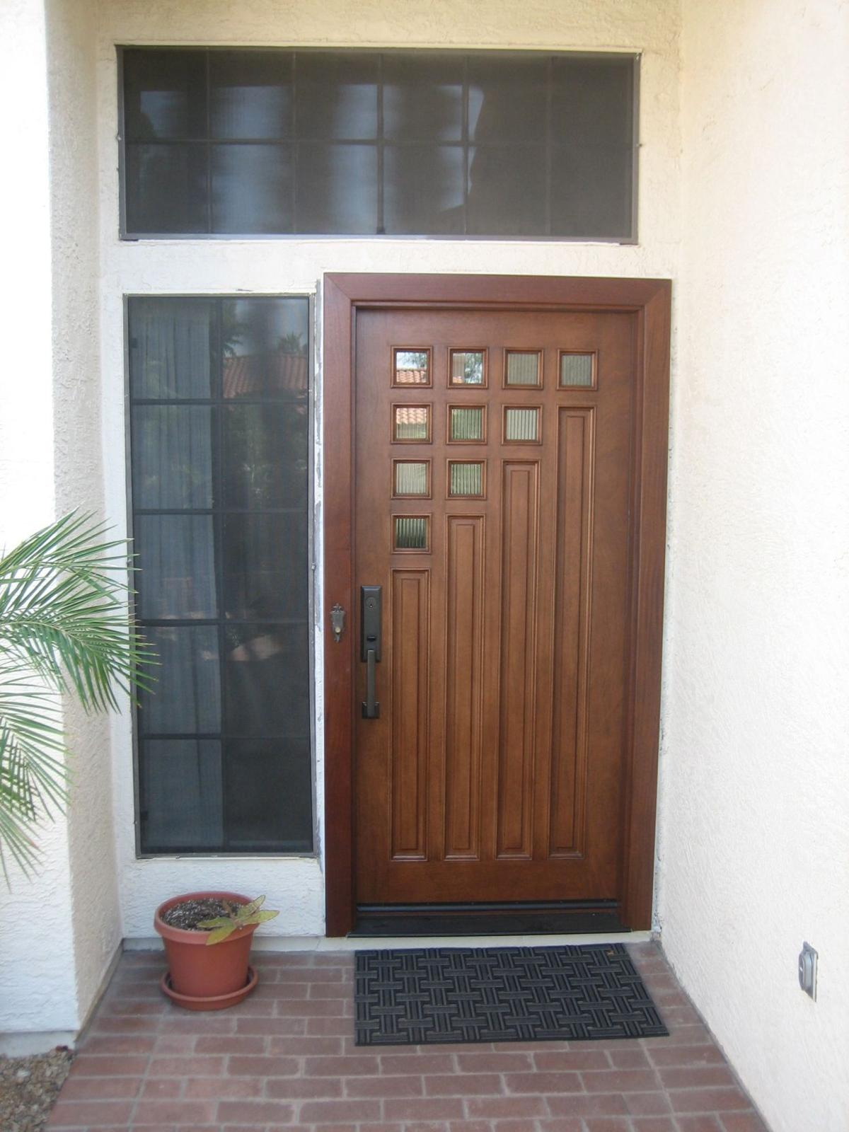 Rosie on the House: Spiff up front door when selling home