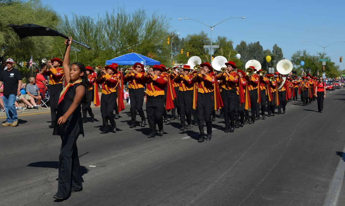 Parade day!