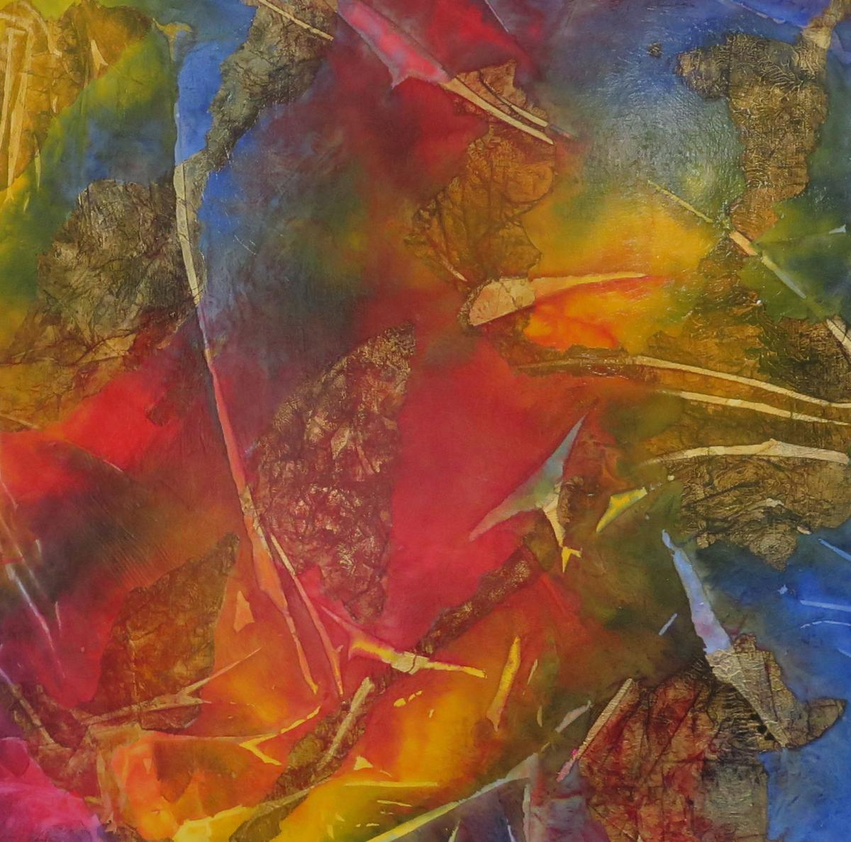 ART BEGETS HAPPINESS: Lifelong passion still going strong