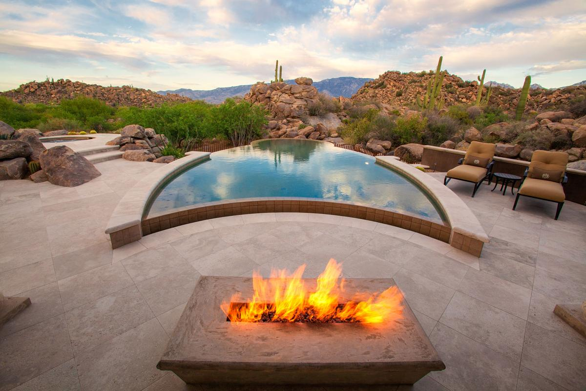 TAKING THE PLUNGE!  Style rules in backyard pools