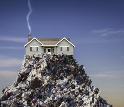 trashy house