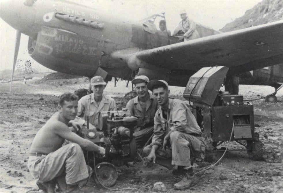 Repaired P-40