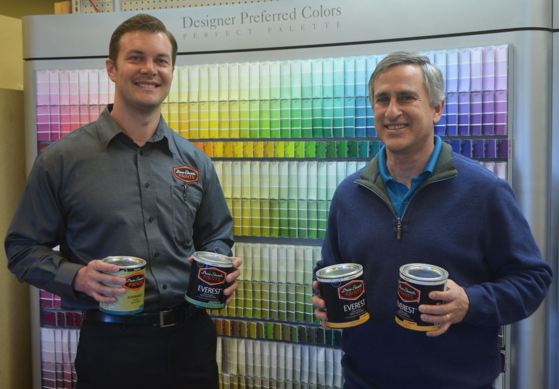 Calming colors soothing paint shades for home oasis get for Dunn edwards paint tucson