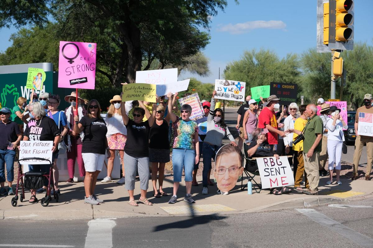 """Green Valley's """"Rally for Reproductive Rights"""""""