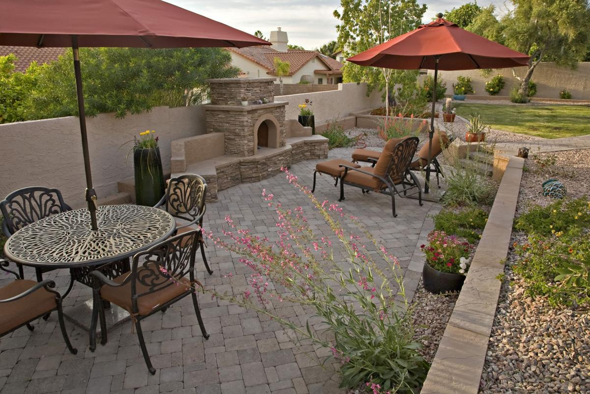 Rosie On House Laying Out Your Backyard Hardscape Get