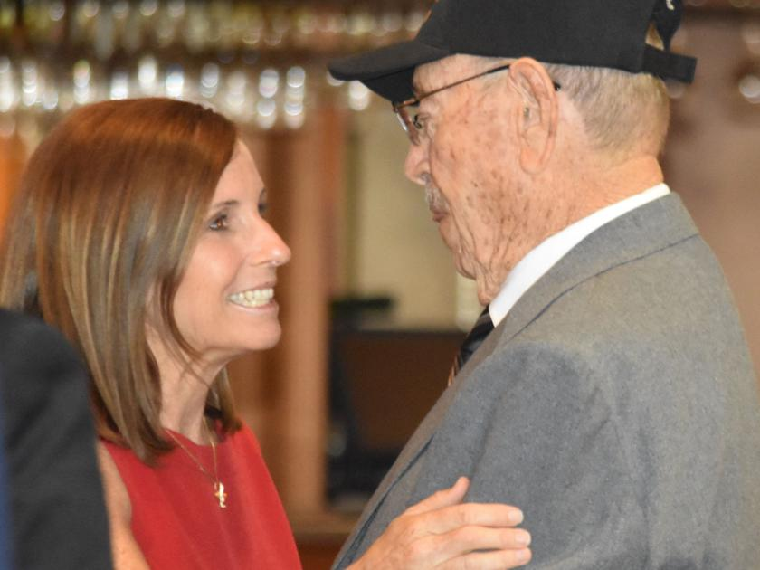 75 years later: Nogales native honored with second Purple Heart