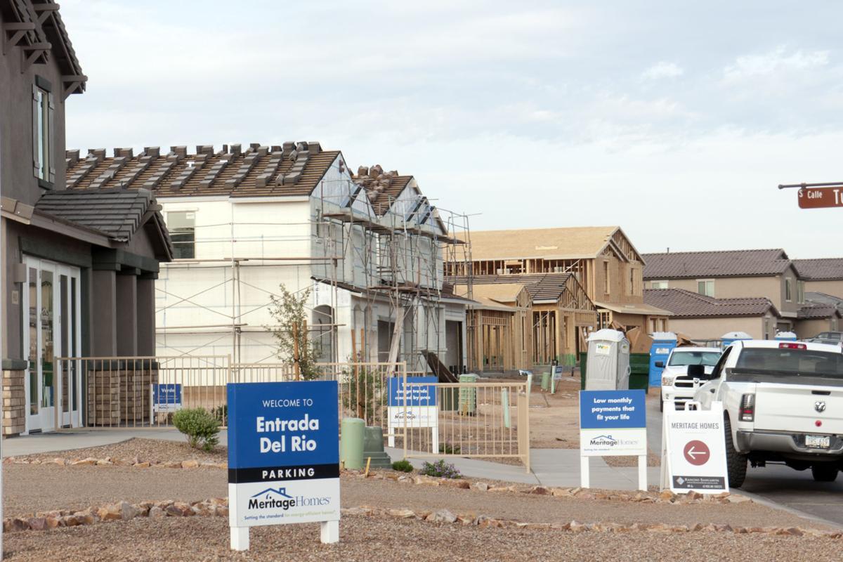 Homebuilding on the rise in Rancho Sahuarita