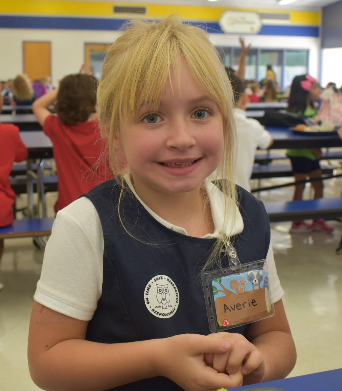 Averie Pennington, 5, Sahuarita Primary School