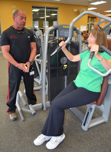 staying fit after 60 personal trainer works with seniors