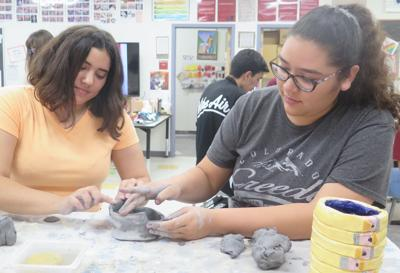 Spotlight on student-made ceramics