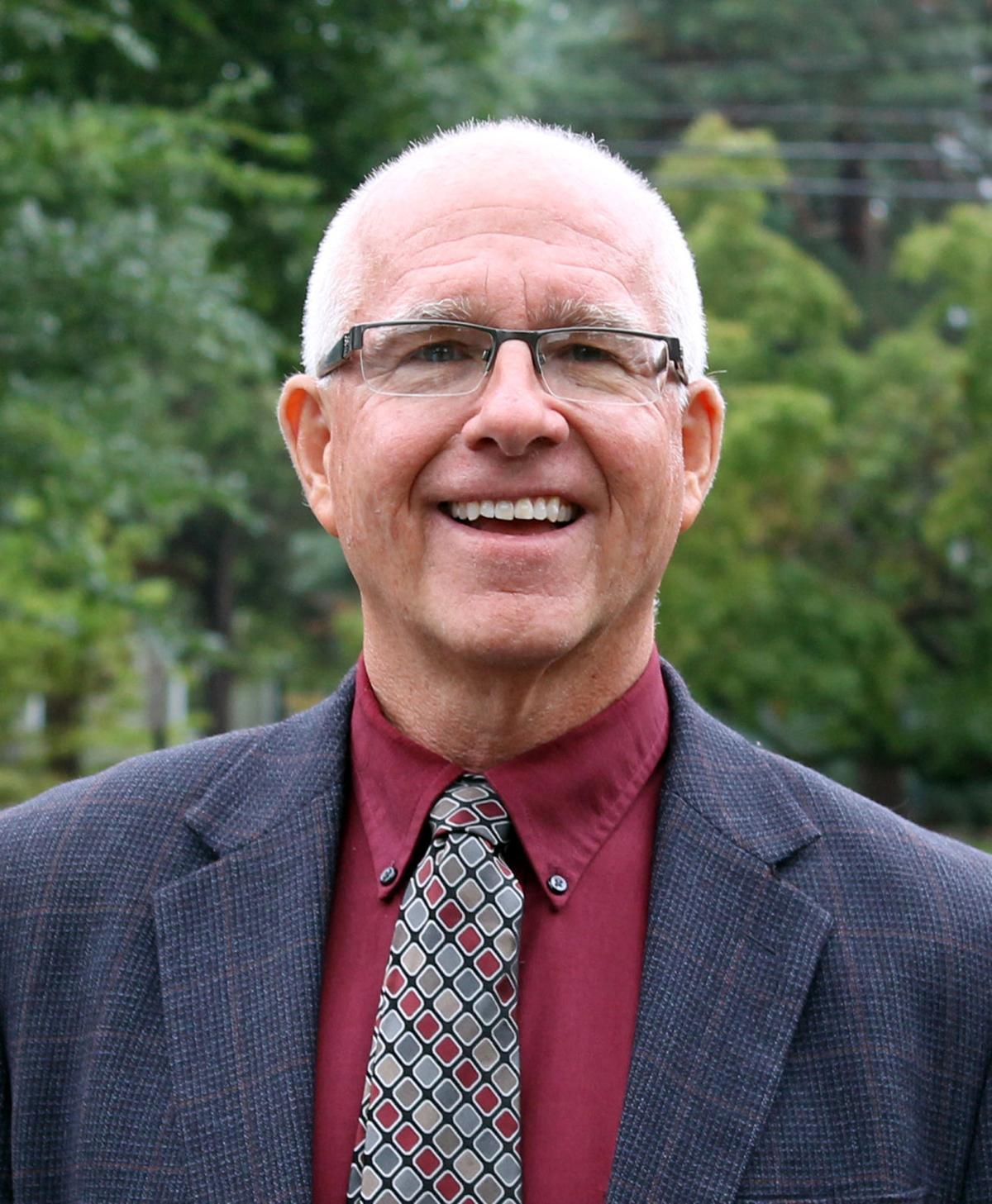 Principal Dave Dunn, Martha Brown Middle School