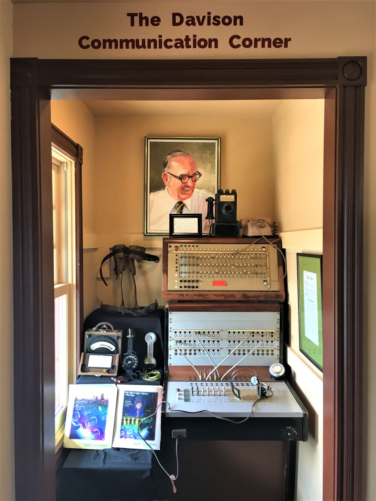 Dedicated Davison Communication Corner