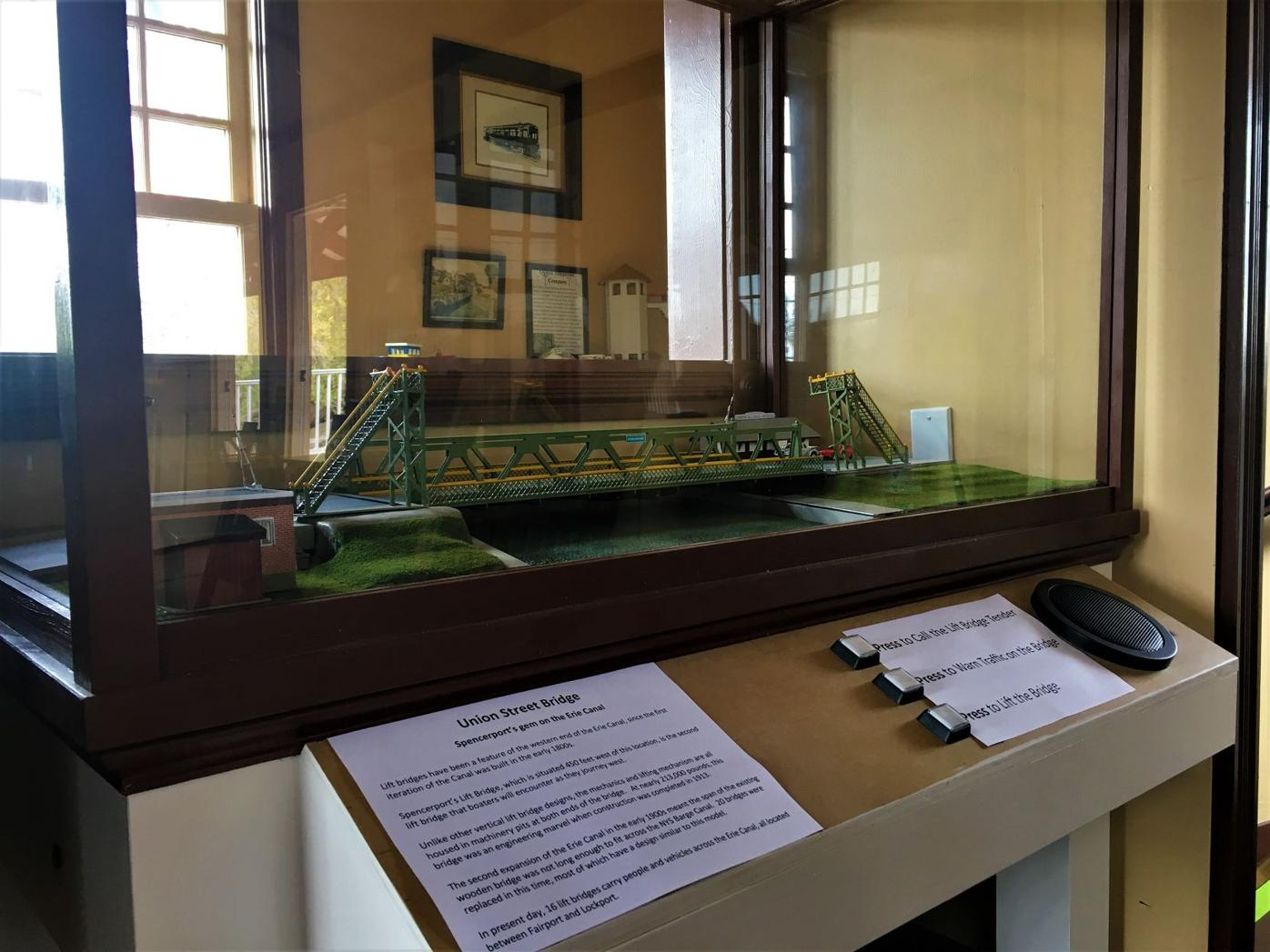 New Lift Bridge Display